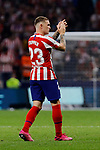 Kieran Trippier of Atletico de Madrid during La Liga match between Atletico de Madrid and Real Madrid at Wanda Metropolitano Stadium{ in Madrid, Spain. {iptcmonthname} 28, 2019. (ALTERPHOTOS/A. Perez Meca)