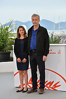 "CANNES, FRANCE. May 18, 2019: Bruno Dumont & Lise Leplat Prudhomme at the photocall for the ""Jeanne"" at the 72nd Festival de Cannes.<br /> Picture: Paul Smith / Featureflash"