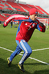 19 November 2010: Milton Rodriguez. FC Dallas held a practice at Toronto, Ontario, Canada as part of their preparations for MLS Cup 2010, Major League Soccer's championship game.