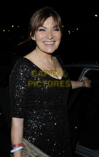 LONDON, ENGLAND - DECEMBER 17: Lorraine Kelly attends the ITV Christmas party, Old Billingsgate Market, Lower Thames St., on Tuesday December 17, 2013 in London, England, UK.