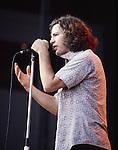 Pearl Jam 1993 Eddie Vedder<br /> &copy; Photofeatures