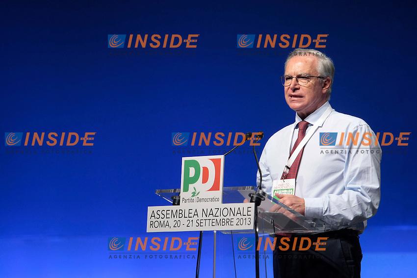 Guglielmo Epifani<br /> Roma 20-09-2013 Auditorium della Conciliazione. Assemblea Nazionale del Partito Democratico.<br /> National Assembly of Democratic Party.<br /> Photo Samantha Zucchi Insidefoto