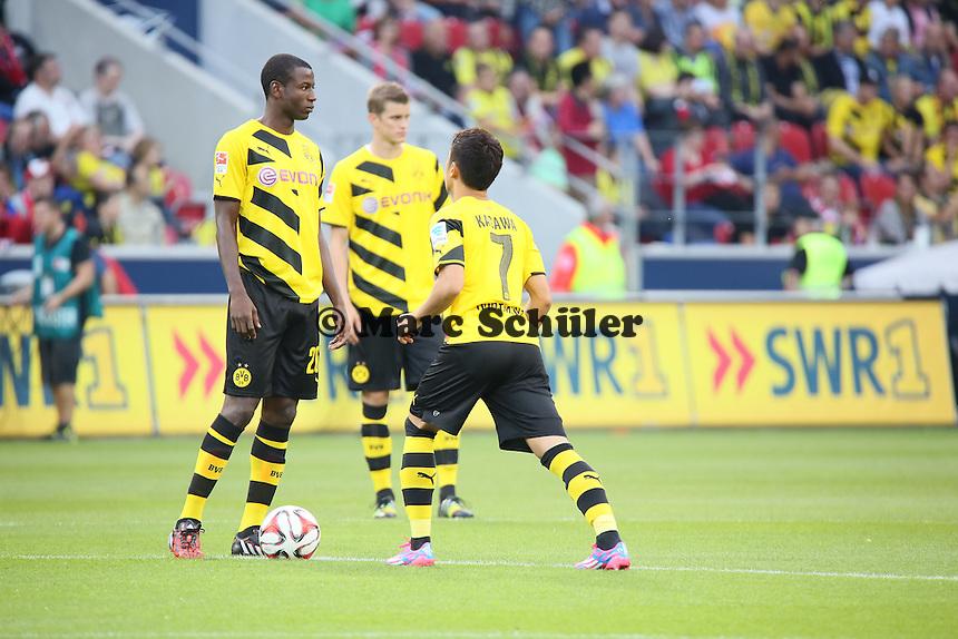 Adrian Ramos und Shinji Kagawa (BVB) - 1. FSV Mainz 05 vs. Borussia Dortmund, Coface Arena
