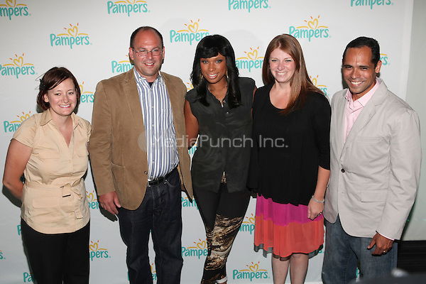 Pampers teams up with Grammy award-winning recording artist Jennifer Hudson to unveil her original rendition of a favorite lullaby classic at the Pampers listening party in New York City, June 27, 2012 © Diego Corredor/MediaPunch Inc.