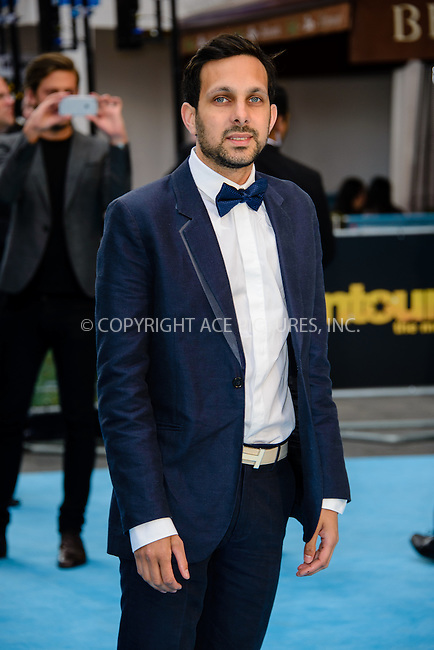 WWW.ACEPIXS.COM<br /> <br /> June 9 2015, London<br /> <br /> Dynamo arriving at The European Premiere of Entourage at the Vie West End on June 9 2015 in London<br /> <br /> By Line: Famous/ACE Pictures<br /> <br /> <br /> ACE Pictures, Inc.<br /> tel: 646 769 0430<br /> Email: info@acepixs.com<br /> www.acepixs.com