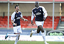20/02/2010  Copyright  Pic : James Stewart.sct_jspa06_falkirk_v_aberdeen  .::  ENOCH SHOWUNMI CELEBRATES AFTER HE SCORES THE THIRD ::.James Stewart Photography 19 Carronlea Drive, Falkirk. FK2 8DN      Vat Reg No. 607 6932 25.Telephone      : +44 (0)1324 570291 .Mobile              : +44 (0)7721 416997.E-mail  :  jim@jspa.co.uk.If you require further information then contact Jim Stewart on any of the numbers above.........