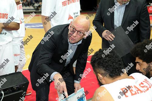 2014-12-02 / Basketbal / seizoen 2014-2015 / Antwerp Giants - Le Mans / Paul Vervaeck<br /><br />Foto: mpics.be