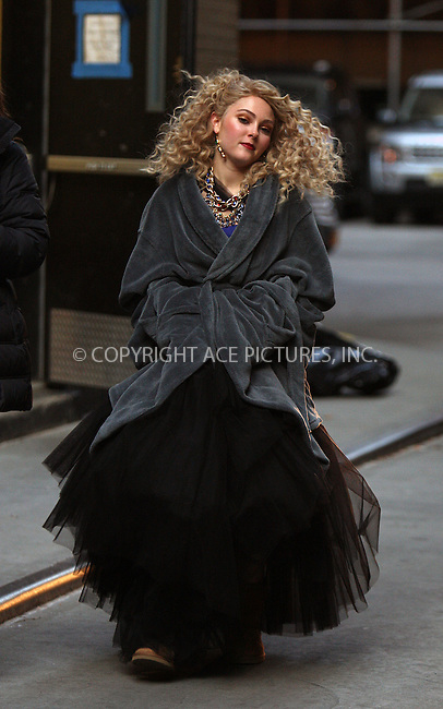 WWW.ACEPIXS.COM......November 29 2012, New York City....Actress AnnaSophia Robb was on the set of the new TV show 'The Carrie Diaries' on November 29 2012 in New York City......By Line: Philip Vaughan/ACE Pictures....ACE Pictures, Inc...tel: 646 769 0430..Email: info@acepixs.com..www.acepixs.com