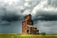 Ghost town Bents, Saskatchewan, Canada