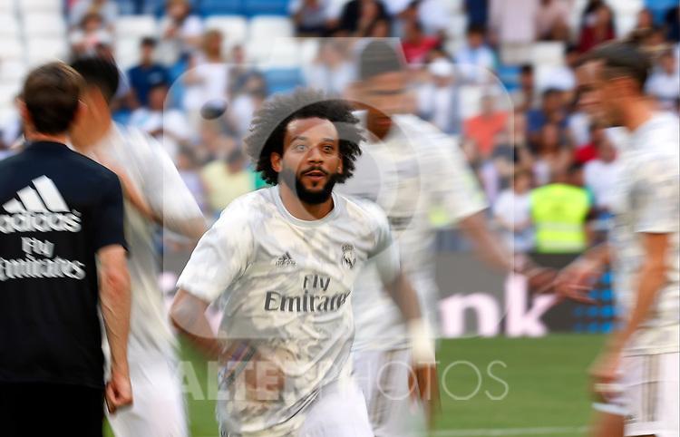 Real Madrid CF's Marcelo Vieira during La Liga match. Aug 24, 2019. (ALTERPHOTOS/Manu R.B.)