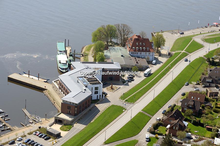 Zollenspieker Faehrhaus: EUROPA, DEUTSCHLAND, HAMBURG, (EUROPE, GERMANY), 20.04.2018:   Zollenspieker Faehrhaus