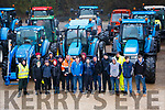 Members of the organisation committee for the Kenmare Macra na Feirme Tractor run in aid of of The Kerry Parents and Friends Association