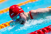 Picture by Alex Whitehead/SWpix.com - 09/04/2018 - Commonwealth Games - Swimming - Optus Aquatics Centre, Gold Coast, Australia - Laura Stephens of England competes in the Women's 200m Butterfly heats.