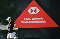 SINGAPORE - FEBRUARY 01: Caroline Masson of Germany on the 11th green during the second round of the HSBC Women's World Championship 2019 at Sentosa Golf Club - Tanjong Course, Singapore on March 01, 2019.<br /> .<br /> .<br /> .<br /> (Photo by: Naratip Golf Srisupab/SEALs Sports Images)<br /> .<br /> Any image use must include a mandatory credit line adjacent to the content which should read: Naratip Golf Srisupab/SEALs Sports Images
