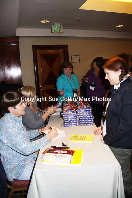 Author Dean Koontz signs books at Romantic Times Booklovers Annual Convention 2011 - The Book Industry Event of the Year - April 6th to April 10th at the Westin Bonaventure, Los Angeles, California for readers, authors, booksellers, publishers, editors, agents and tomorrow's novelists - the aspiring writers. (Photo by Sue Coflin/Max Photos)