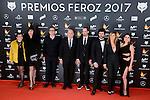 Cast of Julieta attends to the Feroz Awards 2017 in Madrid, Spain. January 23, 2017. (ALTERPHOTOS/BorjaB.Hojas)