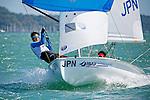 Japan420MenCrewJPNTM29TakumiMiura<br /> Japan420MenHelmJPNKM32KotaroMatsuo<br /> Day2, 2015 Youth Sailing World Championships,<br /> Langkawi, Malaysia