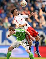 Fussball Bundesliga 2012/13: Hamburger SV - Wolfsburg