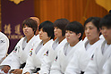 Ami Kondo (JPN), <br /> JULY 27, 2016 - Judo : <br /> Japan national team Send-off Party for Rio Olympic Games 2016 <br /> &amp; Paralympic Games <br /> at Kodokan, Tokyo, Japan. <br /> (Photo by AFLO SPORT)