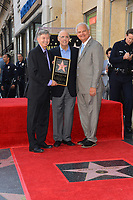 Leron Gubler, Jeffrey Tambor, Jeff Zarrinnam at the Hollywood Walk of Fame Star Ceremony honoring actor Jeffrey Tambor. Los Angeles, USA 08 Aug. 2017<br /> Picture: Paul Smith/Featureflash/SilverHub 0208 004 5359 sales@silverhubmedia.com