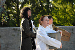 The outdoor production of sleeping Beauty at the Battle of the Boyne Visitor Centre in Oldbridge.