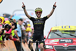 Simon Yates (GBR) Mitchelton-Scott wins Stage 15 of the 2019 Tour de France running 185km from Limoux to Foix Prat d'Albis, France. 20th July 2019.<br /> Picture: ASO/Alex Broadway | Cyclefile<br /> All photos usage must carry mandatory copyright credit (© Cyclefile | ASO/Alex Broadway)