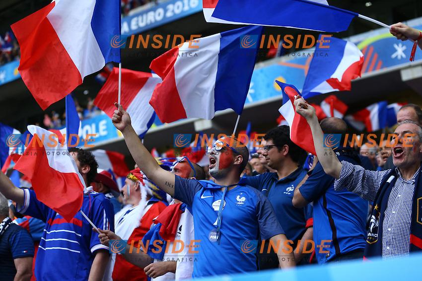 Tifosi Francia Fans France<br /> Lille 19-06-2016 Stade de Pierre Mauroy Footballl Euro2016 Switzerland - France / Svizzera - Francia Group Stage Group A. Foto Matteo Ciambelli / Insidefoto