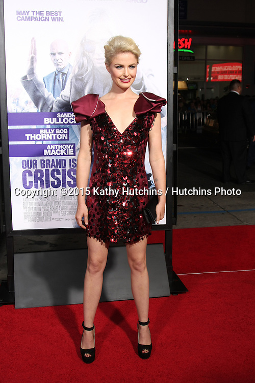 """LOS ANGELES - OCT 26:  Whitney Able at the """"Our Brand is Crisis"""" LA Premiere at the TCL Chinese Theater on October 26, 2015 in Los Angeles, CA"""