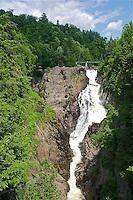 CA- Canyon Sainte-Anne Gorge & Waterfall, Beupre Quebec CA 7 14