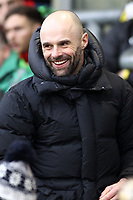 Rotherham United manager Paul Warne during the Sky Bet League 1 match between Oldham Athletic and Rotherham United at Boundary Park, Oldham, England on 13 January 2018. Photo by Juel Miah / PRiME Media Images.