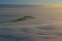 08/09/15<br /> <br /> ***WITH VIDEO***<br /> The view from the summit of Mam Tor at dawn as a cloud inversion shrouds the lower lying land of the Derbyshire Peak District with mist near Edale.<br /> <br /> All Rights Reserved: F Stop Press Ltd. +44(0)1335 418629   www.fstoppress.com.
