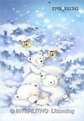 Isabella, CHRISTMAS ANIMALS, paintings(ITKE551341,#XA#)