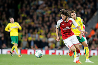 Francis Coquelin of Arsenal in action during the Carabao Cup match between Arsenal and Norwich City at the Emirates Stadium, London, England on 24 October 2017. Photo by Carlton Myrie.