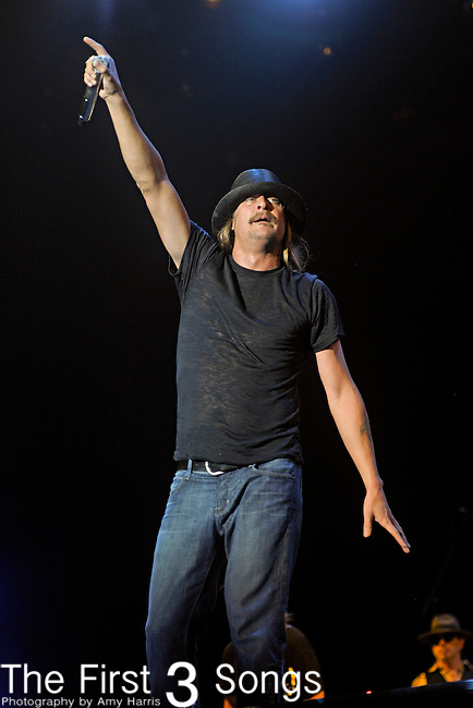 Kid Rock performs during Day 2 of the Orlando Calling music festival at Citrus Bowl Park in Orlando, Florida on November 13, 2011.