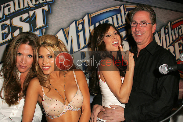 """Galen Brown, Rachel Sterling, Kerri Kasem and Jack Silver<br /> at """"Milwaukee's Best"""" Bash hosted by 97.1 Free FM's """"Two Chicks and a Bunny,"""" Playboy Mansion, Beverly Hills, CA 02-25-06<br /> <br /> David Edwards/DailyCeleb.com 818-249-4998"""
