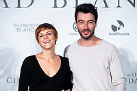 Actress Aura Garrido and actor Javier Rey attends presentation of 'El silencio de la Ciudad Blanca' during FestVal in Vitoria, Spain. September 05, 2018. (ALTERPHOTOS/Borja B.Hojas) /NortePhoto.com NORTEPHOTOMEXICO