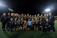 The Blacksticks pose for a photo after the World Hockey League final between the Netherlands and New Zealand. North Harbour Hockey Stadium, Auckland, New Zealand. Sunday 26 November 2017. Photo:Simon Watts / www.bwmedia.co.nz