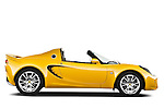 Passenger side profile view of a 2009 Lotus Elise SC 2 Door Convertible.