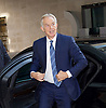 Andrew Marr Show at the BBC, Broadcasting House, London, Great Britain <br /> 10th September 2017 <br /> <br /> Tony Blair former Prime Minister arriving &amp; departing the BBC and Sir Michael Fallon MP, Defence Secretary arriving and departing the BBC.