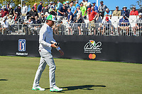 Rickie Fowler (USA) heads down 1 during round 1 of the Arnold Palmer Invitational at Bay Hill Golf Club, Bay Hill, Florida. 3/7/2019.<br /> Picture: Golffile | Ken Murray<br /> <br /> <br /> All photo usage must carry mandatory copyright credit (&copy; Golffile | Ken Murray)