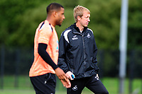 Graham Potter Manager of Swansea City during the Swansea City Training Session at The Fairwood Training Ground, Wales, UK. Tuesday 11th September 2018