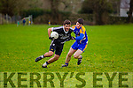 In Action Ardferts and Ballymac's David Long in the Senior Football League Div 3 Round 11 Ballymacelligott V Ardfert at Ballymacelligott GAA on Sunday