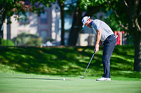 Graeme McDowell (NIR) watches his putt on 14 during the round 1 of the Dean &amp; Deluca Invitational, at The Colonial, Ft. Worth, Texas, USA. 5/25/2017.<br /> Picture: Golffile | Ken Murray<br /> <br /> <br /> All photo usage must carry mandatory copyright credit (&copy; Golffile | Ken Murray)