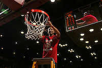 25 February 2007: Candice Wiggins during Stanford's 56-53 win over USC at Maples Pavilion in Stanford, CA.