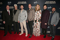 "HOLLYWOOD, CA - FEBRUARY 4: Larry Miller, Sam Elliott, Aidan Turner, Robert D. Krzykowski, Caitlin Fitzgerald, Ron Livingston, Rizwan Manji, at RLJE Films' ""The Man Who Killed Hitler And Then Bigfoot"" Premiere at the ArcLight Hollywood in Hollywood, California on February 4, 2019. <br /> CAP/MPIFS<br /> ©MPIFS/Capital Pictures"