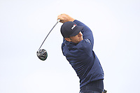 Laurie Canter (ENG) on the 2nd tee during Round 1 of the Dubai Duty Free Irish Open at Ballyliffin Golf Club, Donegal on Thursday 5th July 2018.<br /> Picture:  Thos Caffrey / Golffile