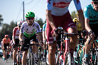Mark Cavendish (GBR/Dimension Data)  in the peloton. <br /> <br /> 104th Kampioenschap van Vlaanderen 2019<br /> One Day Race: Koolskamp > Koolskamp 186km (UCI 1.1)<br /> ©kramon