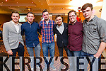 Cian O'Flynn, Cian McNamara, Sam Kavanagh, Aidan Power, Conor Lenihan and Graham Murphy, pictured at the Donal Walsh Live Life Foundation Kerry Film awards 2015 held in Fels Point Tralee, on Wenesday