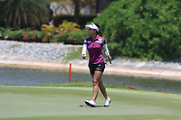 Jenny Shin (KOR) in action on the 17th during Round 4 of the HSBC Women's World Championship 2018 at Sentosa Golf Club on the Sunday 4th March 2018.<br /> Picture:  Thos Caffrey / www.golffile.ie<br /> <br /> All photo usage must carry mandatory copyright credit (&copy; Golffile | Thos Caffrey)