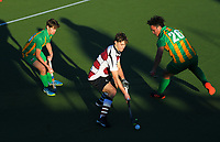 Central v North Harbour men. 2019 National Hockey Under-18 Tournament at National Hockey Stadium in Wellington, New Zealand on Sunday, 7 July 2019. Photo: Dave Lintott / lintottphoto.co.nz